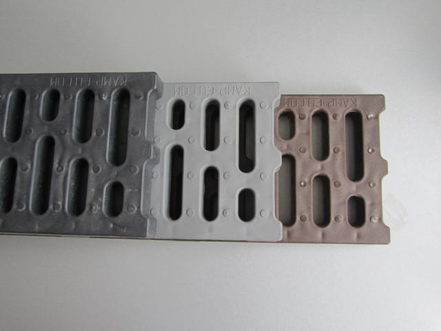 Водоотводные решетки из пластика от Самого хорошего производителя Камп