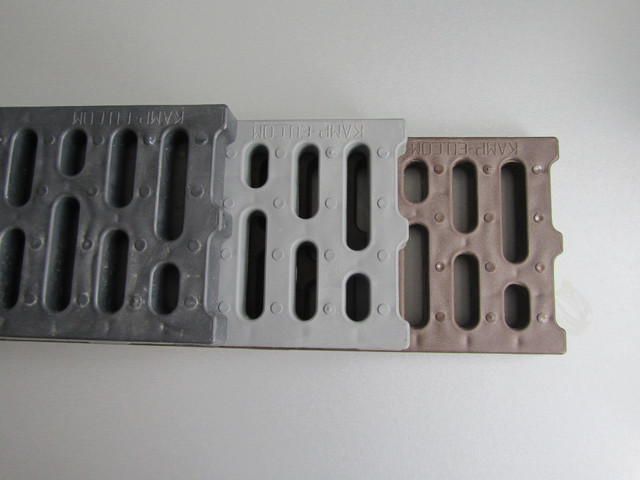 Фото водоотводных решеток пластиковых из полипропилена