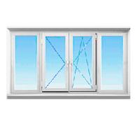 Балконная рама металлопластиковая STEKO (Кривой Рог)