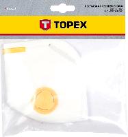 Маска захисна, 1 клапан FFP2. Topex 82S137, фото 1