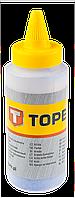 Порошок крейдовий для шнурів розміточних, 115 г, блакитний Topex 30C616
