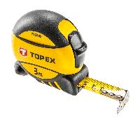 Рулетка, стальная лента 3 м x 16 мм Topex 27C393