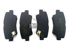 Колодки тормозные диск задние Hyundai Elantra, i20, i30, i40, Solaris IV; KIA Ceed, Optima, Rio III