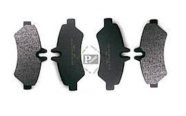 Колодки тормозные диск задние MERСEDES Sprinter 906, Vito; VW Crafter