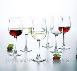 Набор бокалов для вина 360 мл LUMINARC (VERSAILLES), фото 2
