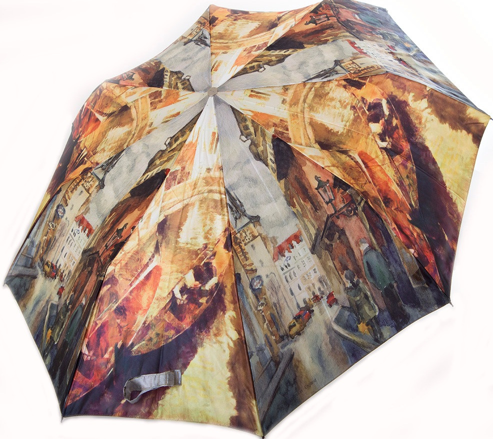 Стильный женский полуавтоматический зонт ZEST (ЗЕСТ) Z53624-5