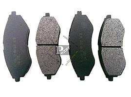 Колодки тормозные диск передние CHEVROLET Aveo, Aveo II
