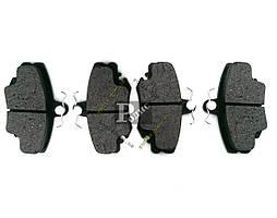 Колодки тормозные диск передние DACIA Logan; RENAULT; PEUGEOT 205, Cabrio, 309