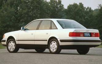 Заднее стекло (ляда) на Audi 100 (в кузове А6) (1991-1994), седан, с антенной для радио