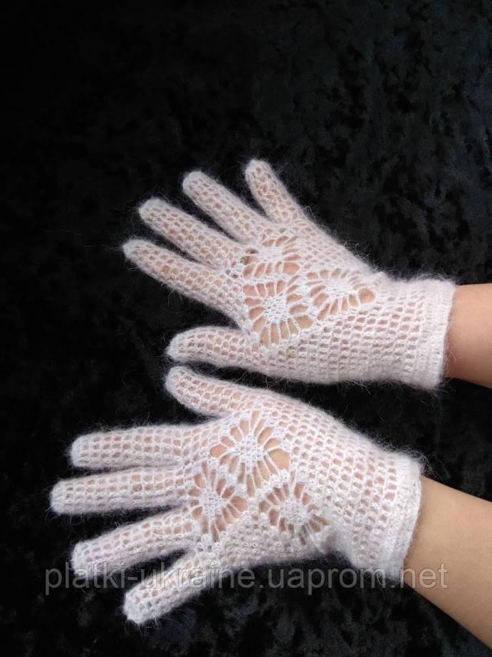 Перчатки ажурные