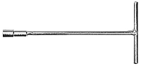 Ключ торцевий д/внутр., 6-гранника, 8 х  200 мм Topex 35D030