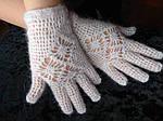 Перчатки ажурные, фото 2