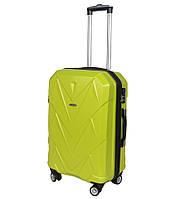 Дорожные чемоданы на колёсах пластик в Украине. Сравнить цены ... 73aaa7de44a