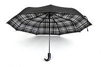 Зонт в черно-белую клетку