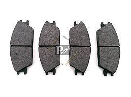 Колодки тормозные диск передние Hyundai Getz (02-11), Elantra I (J1) (90-95); Honda Accord II (83-85)