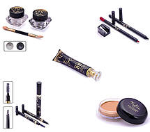 Набор косметики Кайли 11 в 1 Kylie Holiday Edition 11 Pieces Fashion Makeup Set Gold, фото 3
