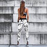 Женский костюм для фитнеса размер М Stronger лосины+ топ, фото 3