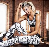 Женский костюм для фитнеса размер М Stronger лосины+ топ, фото 4