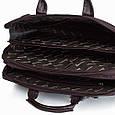 Кожаная сумка для документов и ноутбука Desisan, фото 5