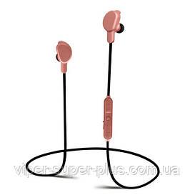 Стерео Блютуз (Bluetooth 4.1) наушник JAKCOMBER STN-817 ( Розовый ) без лишних проводов с микрофоном