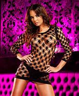 Платье-сетка / Эротическое белье / Сексуальное белье