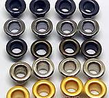 Люверс блочка №1 с кольцом 5000 шт диаметр шнура 3.5 мм, фото 2