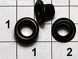 Люверс блочка №1 с кольцом 5000 шт диаметр шнура 3.5 мм, фото 3