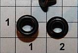 Люверс блочка №1 с кольцом 5000 шт диаметр шнура 3.5 мм, фото 4