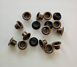 Люверс блочка №2 - 4 мм с шайбой 100 шт в упаковке, фото 3