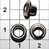 Люверс блочка №2 - 4 мм с шайбой 100 шт в упаковке, фото 4