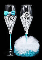 Свадебные бокалы Une fiancée