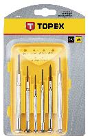 Викрутки прецизійні, набір 6 шт.*1 уп. Topex 39D559