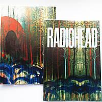 "Обложка ПВХ на паспорт ""Radiohead""."