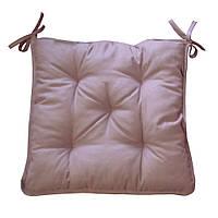 Подушка на стул Прованс 40х40см Какао