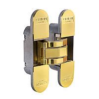 Скрытая универсальная петля CEMOM Estetic-80A 8031 латунь