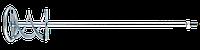 Мішалка для будівельних розчинів, 120 мм, М14, змінний інструмент для електроінструменту Topex 22B002