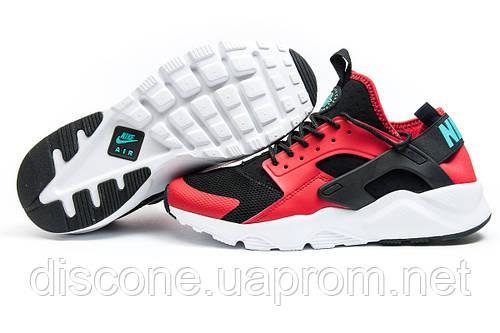 Кроссовки мужские Nike Air Huarache Run Ultra, красные (11821), р. 41 42 43 44 45