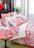 Двуспальный комплект постельного белья LASA HOME GEORGIA PINK (розовое), фото 1