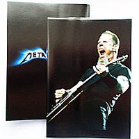 """Обложка ПВХ на паспорт """"Metallica"""""""