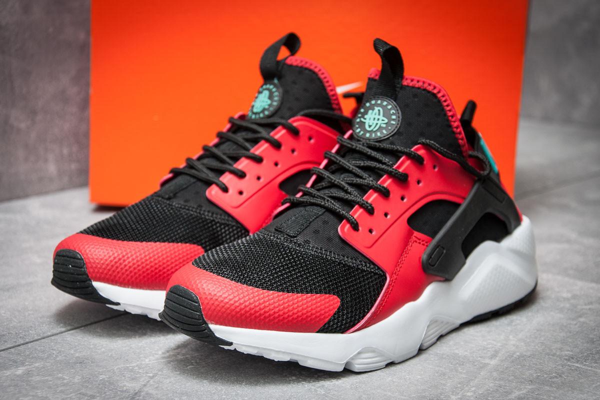 Кроссовки мужские Nike  Air Huarache Run Ultra, красные (11821),  [  4