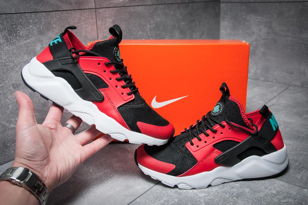 Кроссовки мужские Nike  Air Huarache Run Ultra, красные (11821),  [  4 2