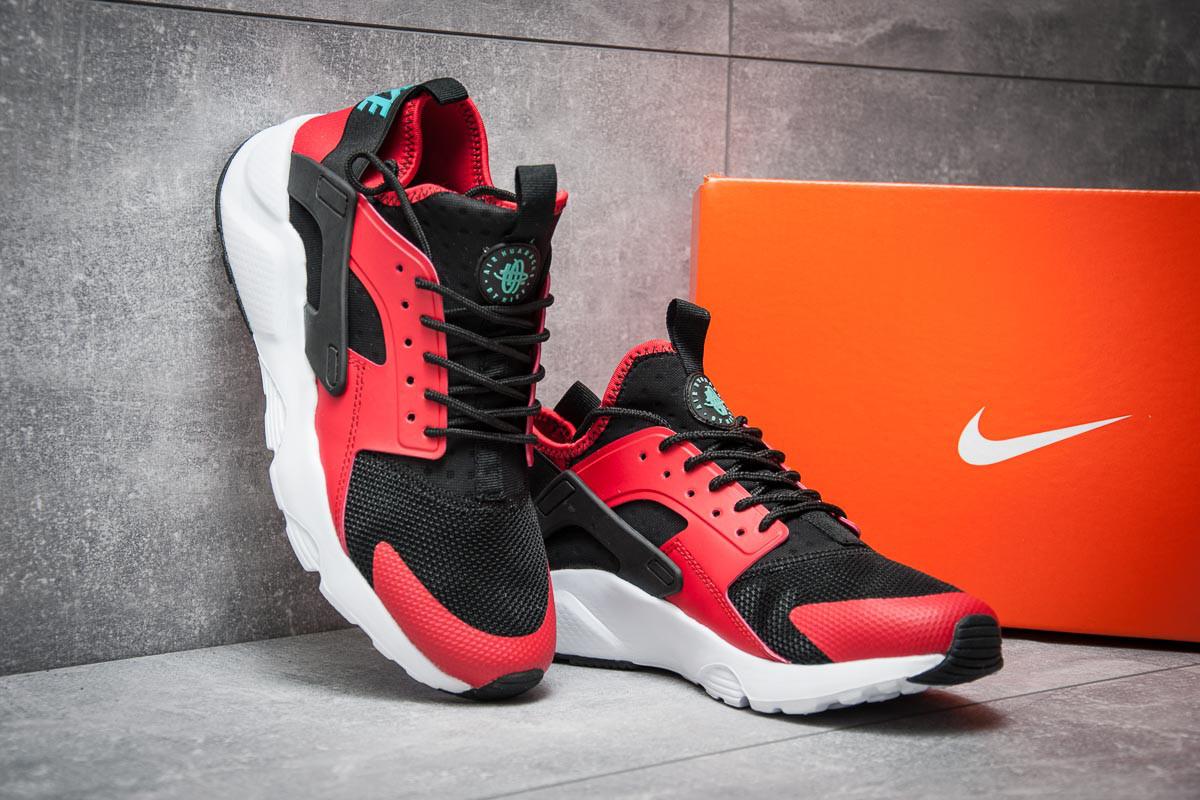 Кроссовки мужские Nike  Air Huarache Run Ultra, красные (11821),  [  4 3