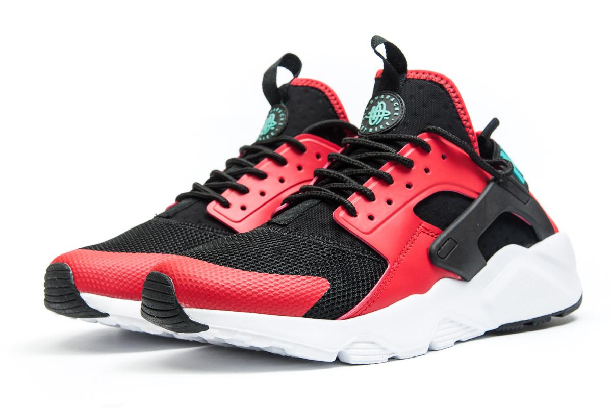 Кроссовки мужские Nike  Air Huarache Run Ultra, красные (11821),  [  4 7