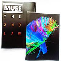 "Обложка ПВХ на паспорт ""Muse The 2nd law"""
