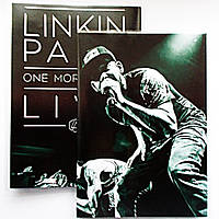 "Обложка ПВХ на паспорт ""Linkin Park One more light"""