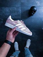 Женские кроссовки Адидас Adidas Gazelle Pink розовые (реплика)
