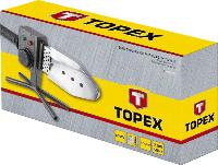 Трубозварювальна машина для зварювання полімерніх труб 800 Вт Topex 44E160