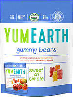 Желейные органические мишки - gummy bears Yum Earth