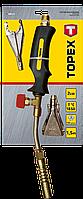 Набір для газового паяння 2 кВт, 3 насадки Topex 44E111