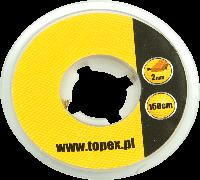 Оплетка для распайки и удаления избыточного припоя 1.5 м x 2 мм Topex 44E016